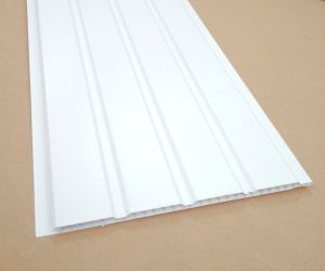 Ridged White Ceiling